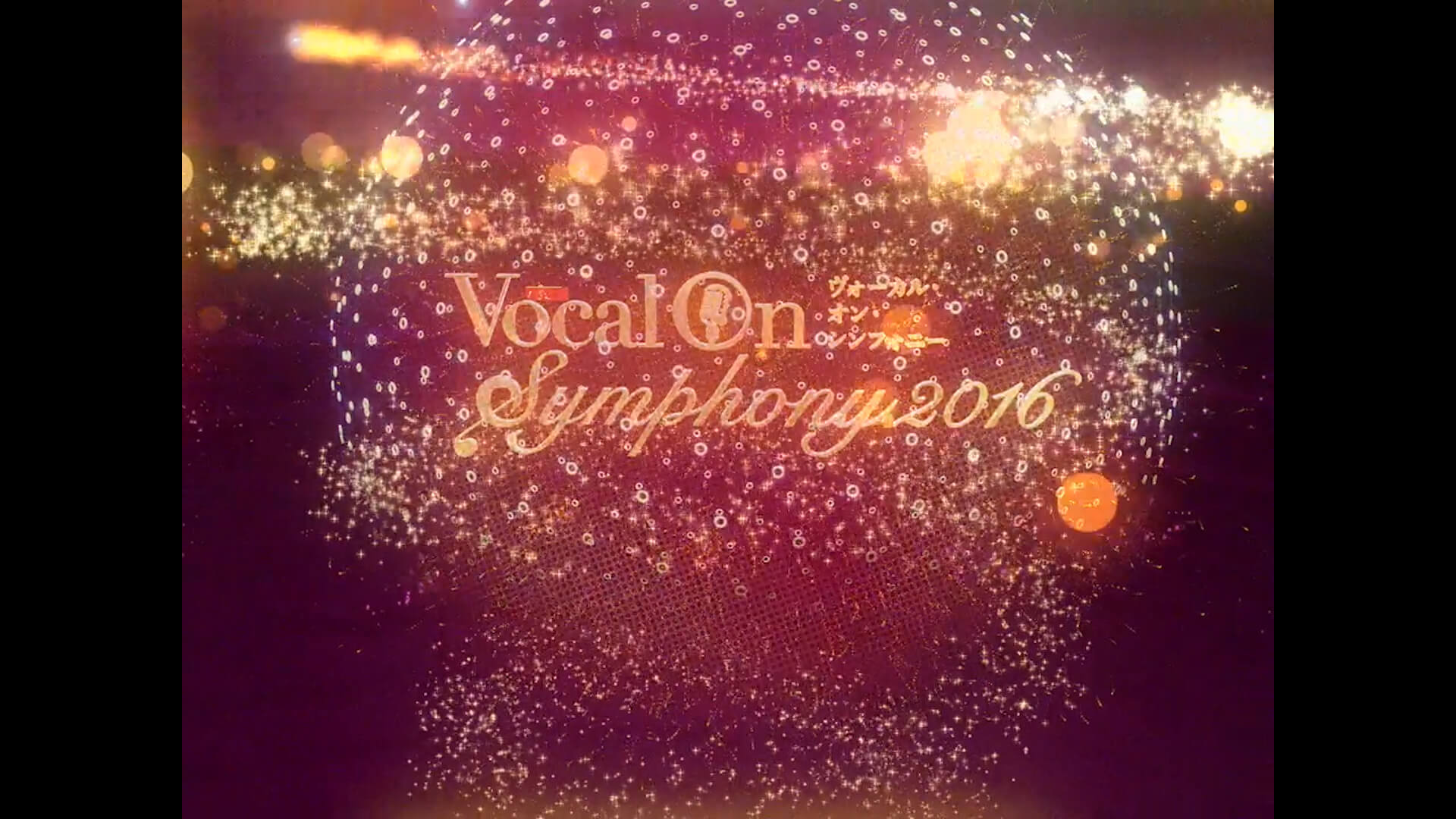 Vocal On Symphony 2016