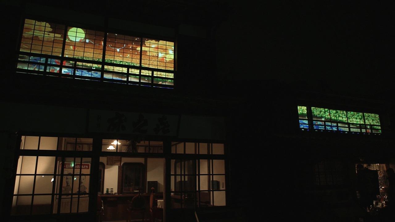 博物館明治村 きらめき明治村 プロジェクション「雪月風花」「恋文」